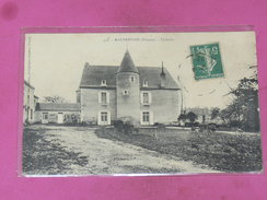 MAUPREVOIR   1910  ARDT  MONTMORILLON  /  LE CHATEAU   EDIT  CIRC  OUI - Vivonne