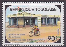 Timbre Neuf ** N° 1304(Yvert) Togo 1990 - Journée Du Timbre - Togo (1960-...)