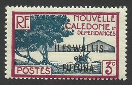 Wallis And Futuna, 3 C. 1940, Sc # 45, MNH - Wallis And Futuna