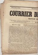 Journal Ancien Catholique Le Courrier De Bruxelles 5 Mai 1872 - Journaux - Quotidiens