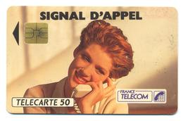 France, Telecom, Telecarte 50, Thème, Téléphones, Signal D'appel - Telefoni