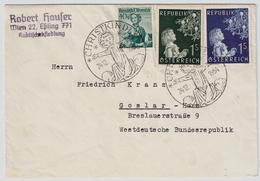 """1954, """" Christkindl 24.12.54 """"  , #6802 - 1945-60 Briefe U. Dokumente"""