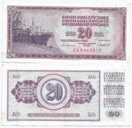 Yugoslavia 20 Dinara 1981 Pick 88.b Ref 970 - Yugoslavia