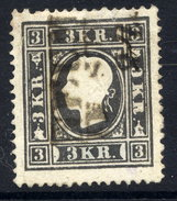 AUSTRIA 1859 3 Kr Type I  Used.  Michel 11 I - 1850-1918 Empire
