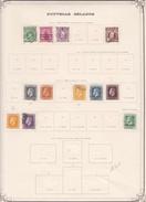 Nouvelle Zélande - Collection Vendue Page Par Page - Timbres Oblitérés / Neufs * (avec Charnière) -Qualité B/TB - Used Stamps
