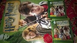 Harry Potter E I Doni Della Morte Parte 1 Album Vuoto+10 Bustine Con Figurine Stickers Panini 2010,,lot N 5 - Panini