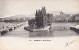 Switzerland Geneve Et Le Mont-Blanc 1903 - GE Genève