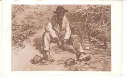 J. F. MILLET.........LE VIGNERON AU REPOS........COLLECTION ANDRE DOUHIN - Musées