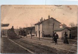 33 BELLEFOND - La Gare - Arrivée Du Train Pour Bordeaux - France