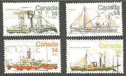 Sc. #776-79 Ice Vessels Set Used 1978 K329 - 1952-.... Règne D'Elizabeth II