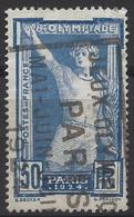 France N° 186 Ob Jeux Olympiques De 1924 à Paris - Frankreich