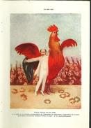 De 1909 - Edmond Rostand - Chanteclerc - - Advertising