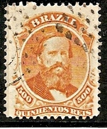 BRASIL 1866 - Yvert #29 - VFU - Brasil