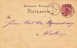 Karte Der Gebr. Buderus Aus Runkel - Old Paper