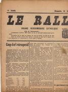Journal Ancien Catholique LE RALLIEMENT DE RENAIX ET SES ENVIRONS Politique L'apparentement Calculs 19 Avril 1925 - Journaux - Quotidiens