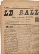 Journal Ancien Catholique LE RALLIEMENT DE RENAIX ET SES ENVIRONS Politique 12 Avril 1925 élection - Journaux - Quotidiens