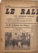 Journal Ancien Politique Catholique LE RALLIEMENT DE RENAIX ET SES ENVIRONS Sanatorium De L'eynsdaele - Journaux - Quotidiens