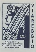 Cartolina - Prima Mostra Di Cartoline Militari Italiane 1942 Viareggio Non Viaggiata - Cartoline