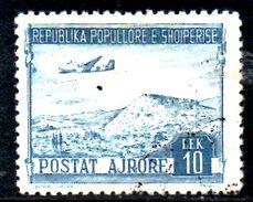 Y1731 - ALBANIA 1950 , Posta Aerea Yvert N. 48  Usato - Albania