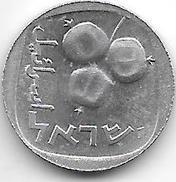 Israel 5 Agorot  1977  Km 25 B  Prooflike - Israel