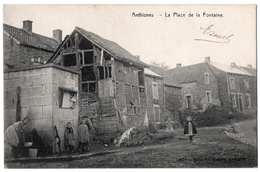 1 - ANTHISNES  -  La Place De La Fontaine - Anthisnes