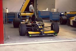 GP F1 Spa Francorchamps 1991 - Minardi M191 - Pierluigi Martini - Morbidelli - Diapositive Dia Diapo 35mm Original (56) - Diapositives