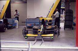 GP F1 Spa Francorchamps 1991 - Minardi M191 - Pierluigi Martini - Morbidelli - Diapositive Dia Diapo 35mm Original (57) - Diapositives