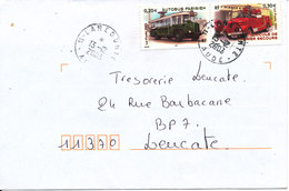 France Cover Franked With 2 Car Stamps And Sent 13-12-2003 - France