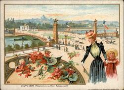 MACHINES A COUDRE - PUB SINGER - Exposition 1900 - Autres
