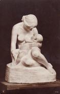 SCÈNE D' ALLAITEMENT MATERNEL / BREASTFEEDING : MOTHER And CHILD - SCULPTURE à IDENTIFIER ! / TO BE IDENTIFED ! (v-354) - Otros