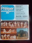 Preiser Miniatur - Figuren Für HO Nr.:16505 - UDSSR 1942 - Im Original Karton - Streckendekoration
