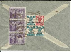 Mischfrankatur 1948 Nach Horgen CH - Koweït