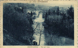 39 Le Jura Pittoresque Champagnole Vue Sur La Rivière D´Ain En 1934 - Champagnole