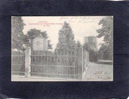 66410    Germania,  Leipzig,  Napoleonstein Mit  Volkerschlacht-Denkmal Im Bau.,  VGSB  1910 - Leipzig