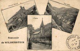 SOUVENIR DE WILDENSTEIN CPA MULTIVUE - France