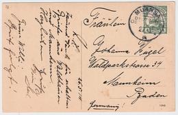 """1914, DOA, """" MUANSA """" Sehr Klar, #6813 - Kolonie: Duits Oost-Afrika"""