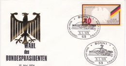 Germany FDC 1974 Election Of Bundespresident  (T4-6) - BRD