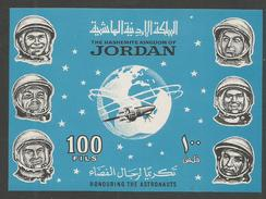 JORDAN - MNH - Space - Honouring The Astronauts - Imperf. - Space