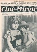 Cine Miroir  N° 14  Nanouk L'esquimau / Roger La Honte  Rudolph Valentino  Année 1922 - Livres, BD, Revues