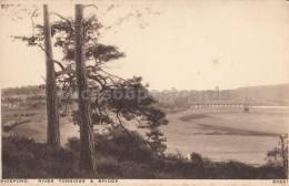Bideford - River Torridge & Bridge - England