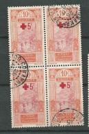 Guinée     - Yvert N°  80  Bloc De 4  Oblitéré   Conakry    -   Cw 14729 - Guinea Francese (1892-1944)