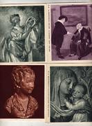 Arts - J.H.Fragonard - Houdon A. Brongniart - Van Brekelenkam La Consultation - Beato Angelico St-Laurent - Papel Secante