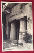 GENOVA TOMBA DI MAZZINI  - CARTOLINA D'EPOCA EDITORE ELIOS - N.V. - Personaggi