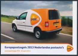 "NETHERLANDS/Nederland EUROPA 2013 ""The Postman Van"" Booklet** - Europa-CEPT"