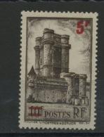 FRANCE - VINCENNES 5F/10F - N° Yvert 491 ** - France