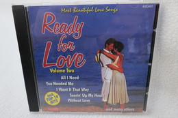 """CD """"Ready For Love"""" Most Beautiful Love Songs, Volume Two - Hit-Compilations"""