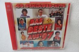"""2 CDs """"Das Beste Aus ´97"""" 40 Schlager-Hits - Hit-Compilations"""