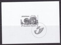 Feuillet N/B GCA13 BD / Comics  Jeremiah Année 2008