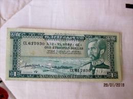 Ethiopie: 1 $ET 1966 - Ethiopia