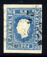 AUSTRIA 1859 1.05 Kr Light Blue Newspaper Stamp Fine Used.  Michel 16, ANK 16a  €600 - Newspapers